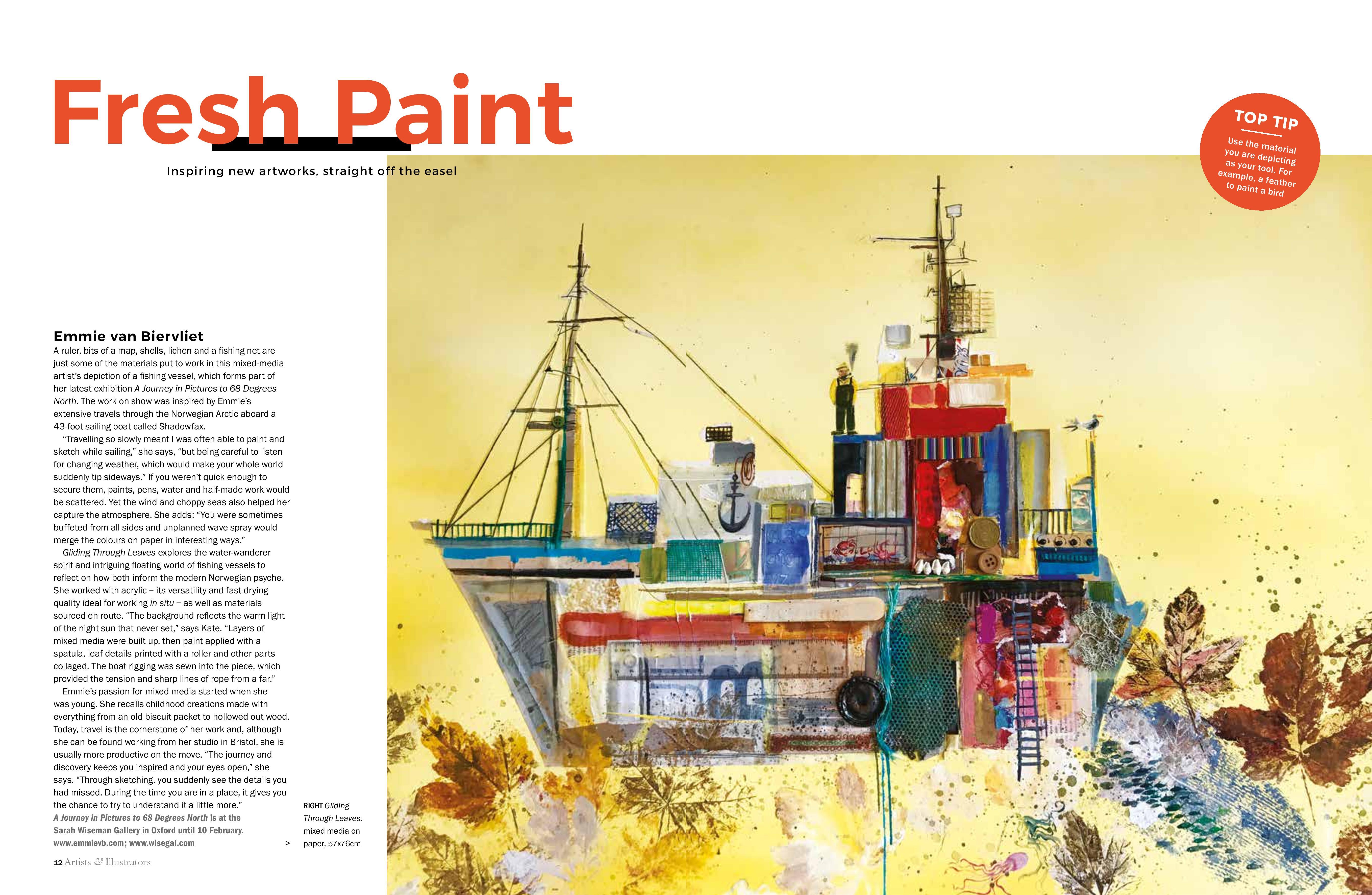 Feature: Artist & Illustrator Magazine