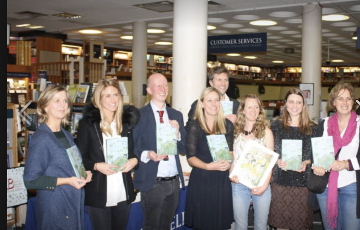 Book launch of 'A Wisp of Wisdom' at Blackwells