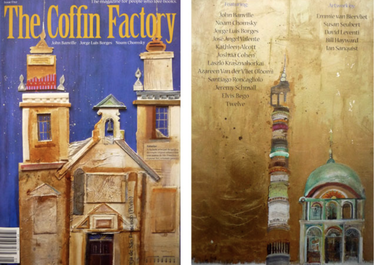 Paintings appear on front cover of New York magazine