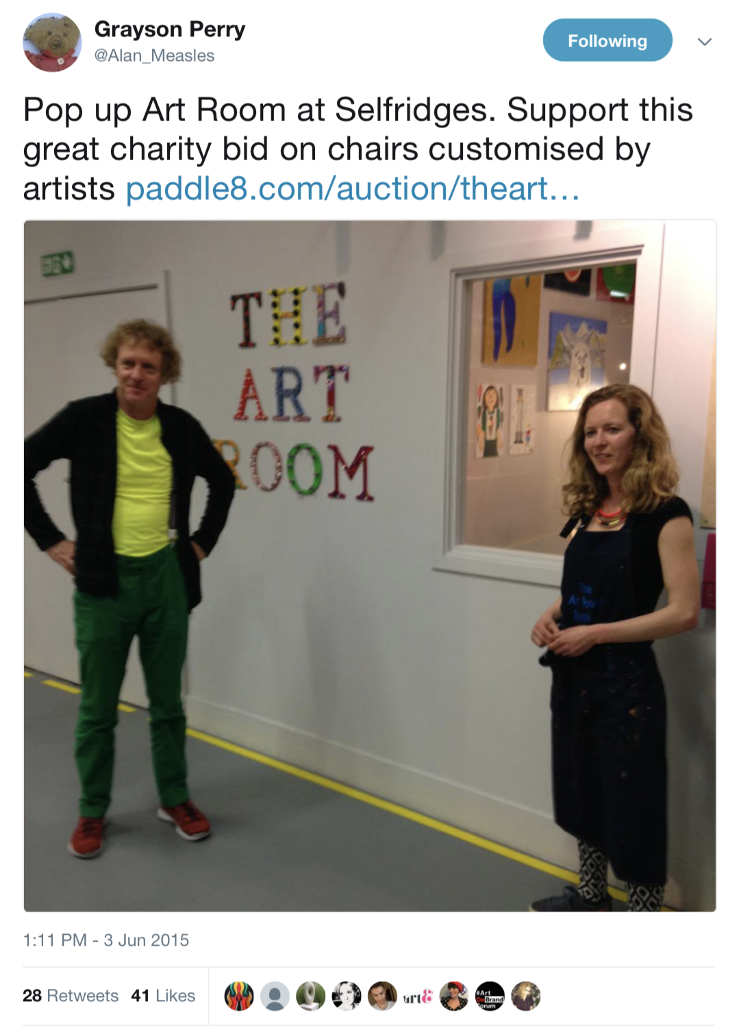 Grayson Perry visit