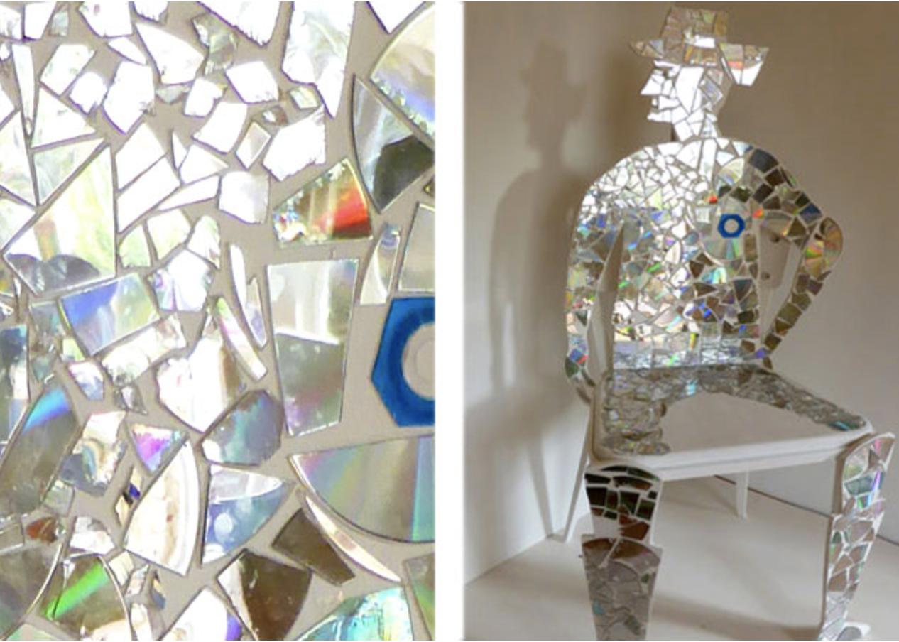 Mirror Man in Selfridges Atrium